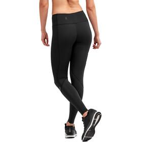 2XU Mid Rise Dash Compression Leggings Dames, black/silver reflective